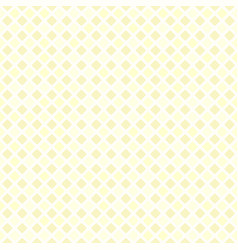 Yellow checkered rounded diamond pattern seamless vector