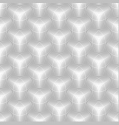 3d hexagon tile brick pattern for decoration and vector image