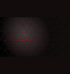 abstract background of intersecting triangles vector image