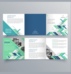 brochure design brochure template vector image