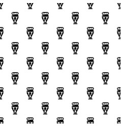 egyptian vase pattern seamless vector image