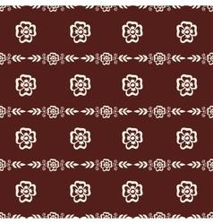 Mehendi pattern vector image