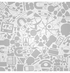 science wallpaper vector image