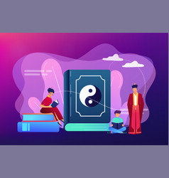 Taoism concept vector