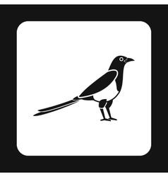 Bird icon simple style vector image vector image