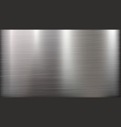 metal abstract technology background polished vector image vector image