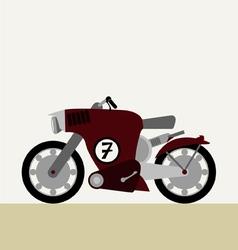 Motorcycle concept vector