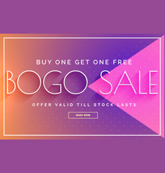 sale banner design with vibrant color template vector image