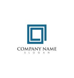 Business corporate logo design vector