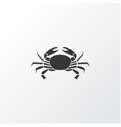 Crab icon symbol premium quality isolated cancer vector