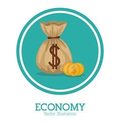 Economy design vector
