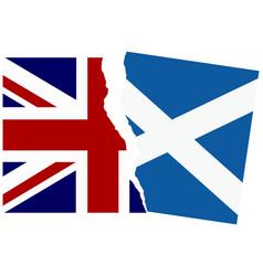 Election or referendum in scotland vector