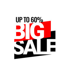 Final deal discount with price is 60 vector