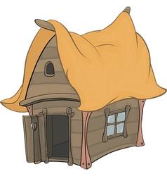 Funny Little House cartoon vector image