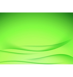 Green abstract border lines certificate template vector