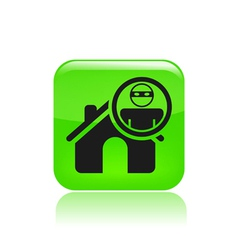 thief apartments icon vector image vector image