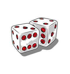 Two dice vector