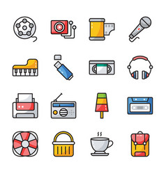 Ui icons pack vector