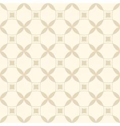 Beige seamless geometric pattern vector image