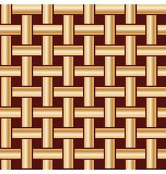 golden fabric tiles vector image