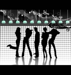 party illustration vector image vector image