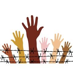 Human rights vector image vector image