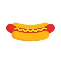 Hot Dog Cartoon vector image
