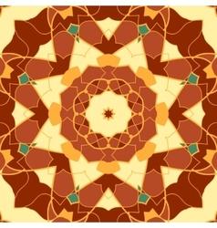 Seamless Pattern Mandala Like Vintage Decorative vector image vector image