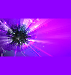 abstract purple colors background vector image