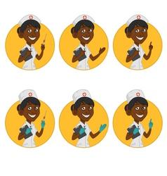 Avatars nurse vector
