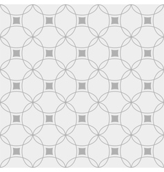 Black and white seamless geometric pattern vector