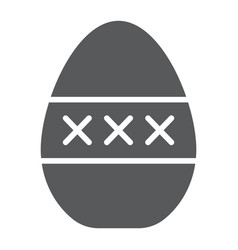 Egg masturbation glyph icon sex toy and adult vector