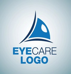 EYE CARE LOGO 4 vector image
