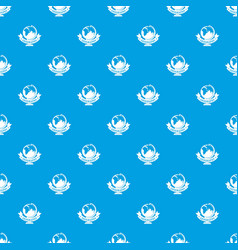 geography pattern seamless blue vector image