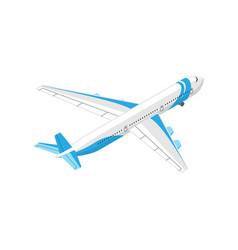 Isometric airplane vector