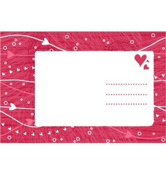 love letter vector image