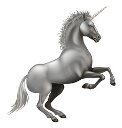 Powerful unicorn vector