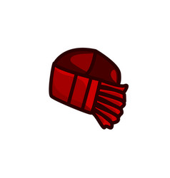 Slayer bandana colorful icon vector