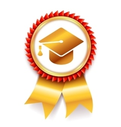 Education Award Medal Icon vector image vector image
