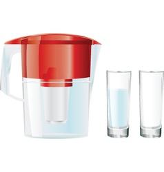 water jug vector image vector image