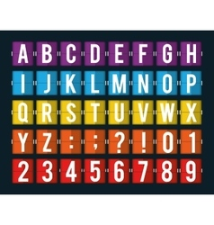 Codes and digits vector image