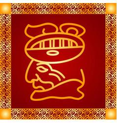American indians maya and aztec symbolic vector