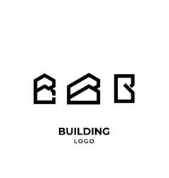 B building logo vector