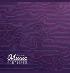 Digital Wave Equalizer Sound Noize Wave vector image
