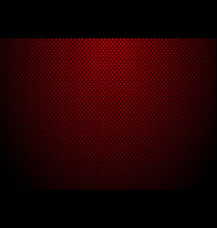 Red carbon fiber background and texture vector