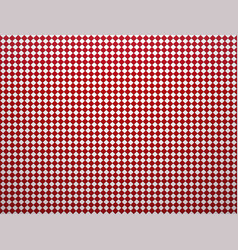 tiles checkered red background with vignette vector image