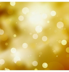 Gold Festive Christmas background EPS 8 vector image vector image