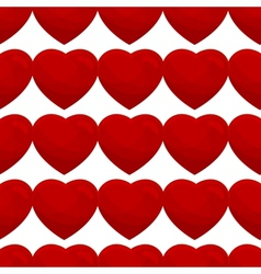 seamless pattern from hearts vector image