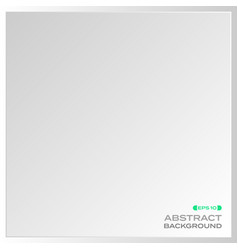 Abstract plain aluminum plate background vector