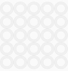 abstract seamless pattern of repeating circles vector image